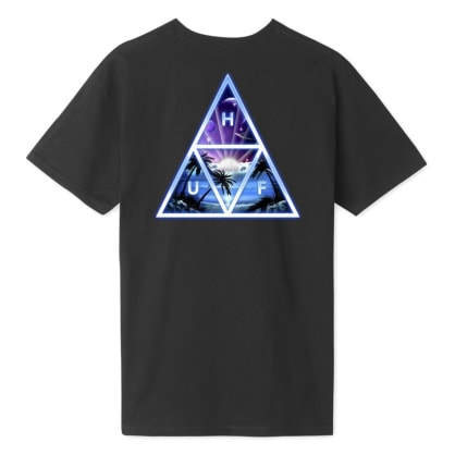 Huf - Space Beach T-Shirt - Black