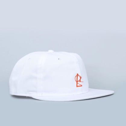 Isle Snapback White / Red