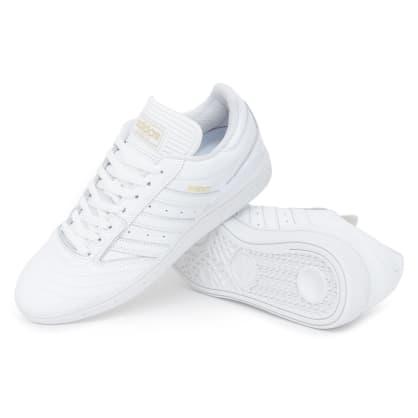 Adidas Busenitz Shoes - FTW White/Gold/FTW White