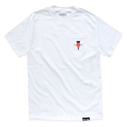 Fifty Fifty Hammertime Pocket T-Shirt White