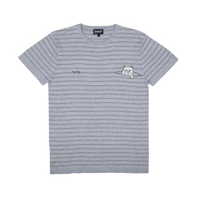Rip N Dip Peeking Nermal T-Shirt Grey/Black
