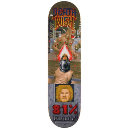 Deathwish Skateboards Taylor Kirby Raising Hell Deck - 8.125