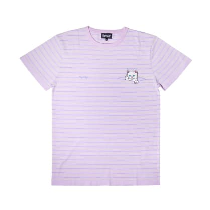 Rip N Dip Peeking Nermal T-Shirt - Lavender/Lime