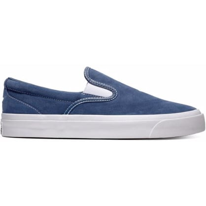 Converse Cons One Star CC Slip On Pro Shoe Navy/White
