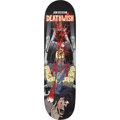 Deathwish Skateboards Jon DIxon Premonition Skateboard Deck - 8.00