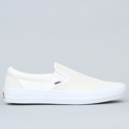 Vans Slip-On Pro Shoes (Rubber Print) Marshmallow