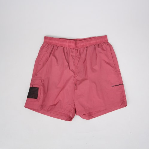 Pop Trading Painter Shorts Coral