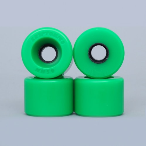 Kryptonics 65mm 86A Star Trac Cruiser Wheels Green