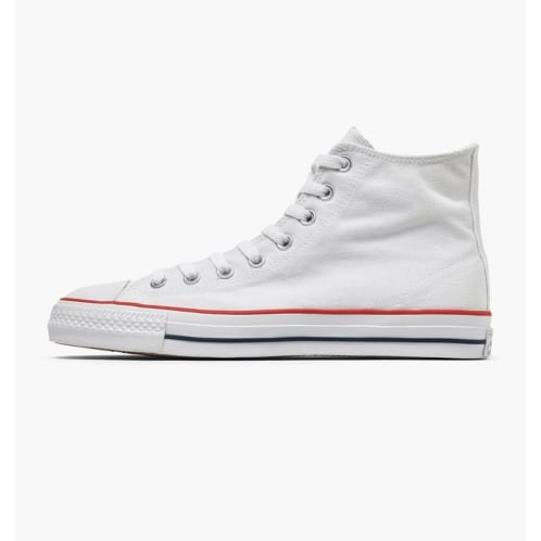 Converse Cons CTAS Pro Hi Shoes - White/Red/Insignia Blue