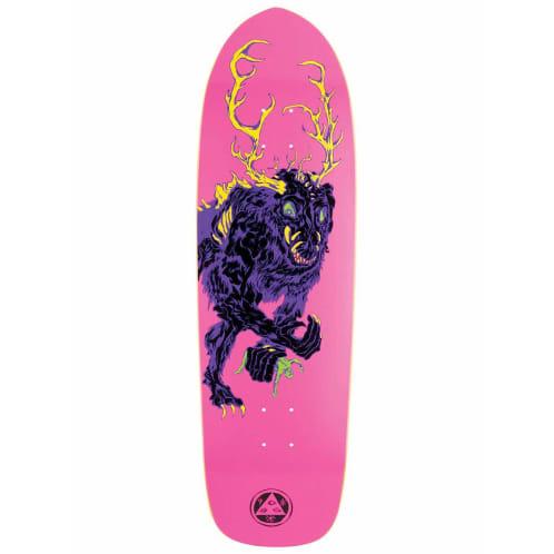 Welcome Skateboards Wendigo Magic Bullet Pink Deck - 9.5