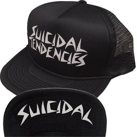 Suicidal Tendencies Mesh Flip OG Logo Cap - Black