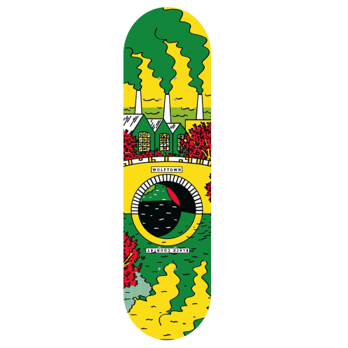 Black Country Reflections Deck | Green