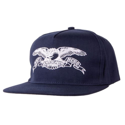 Anti Hero Eagle Outline Cap - Navy/White