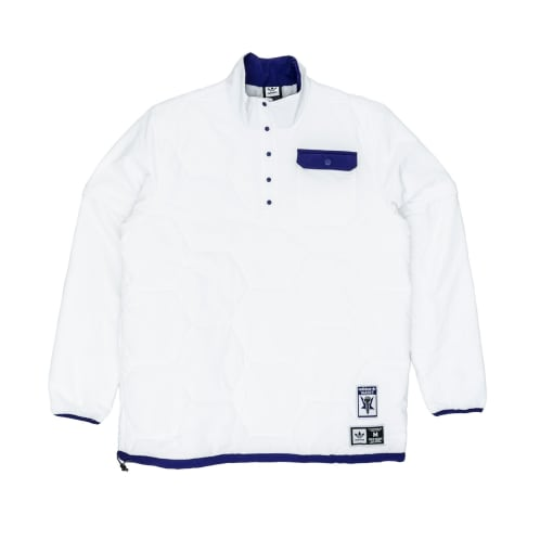 Adidas x Hardies Jacket - White/Collegiate Purple