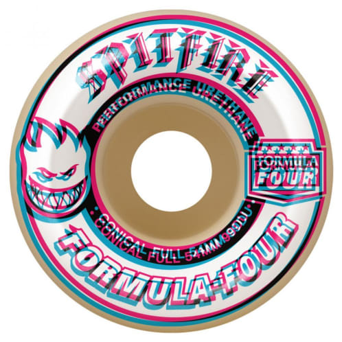 Spitfire Formula Four Overlay Conical Wheels 99a - 54mm