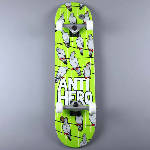 "Anti Hero 'Conference Call XL' 8.25"" Complete Skateboard (Green)"