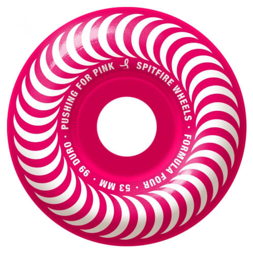 Formula Four Pushing For Pink 99 Wheels | 53mm