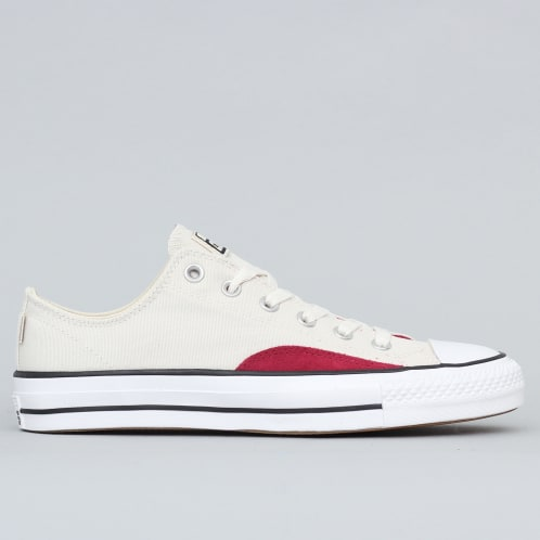 Converse CTAS Pro OP OX Shoes Natural Ivory / Black / White
