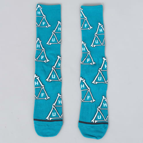 HUF Boner Triangle Socks Biscay Bay