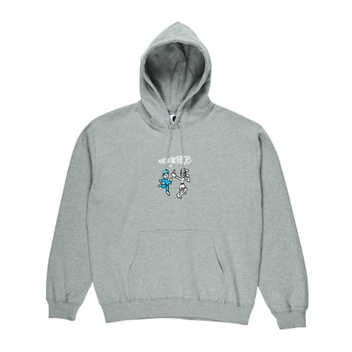 Polar Skate Co. Fuck The Police Hoodie - Heather Grey