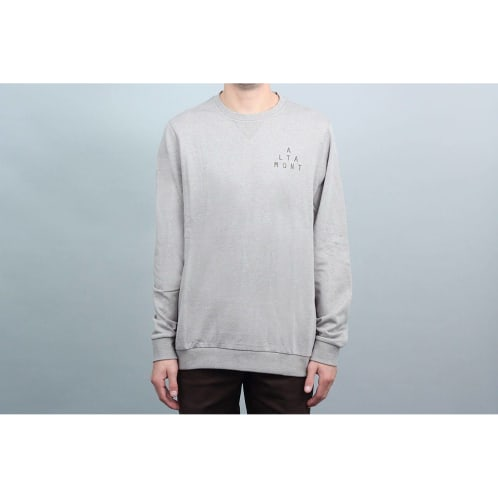 Altamont Antisec Crew Fleece Brown / Black