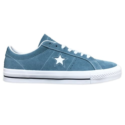 Converse Cons One Star Pro OX Shoe Celestial Teal/White