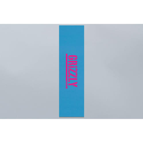Grizzly Stamp Griptape Blue / Hot Pink