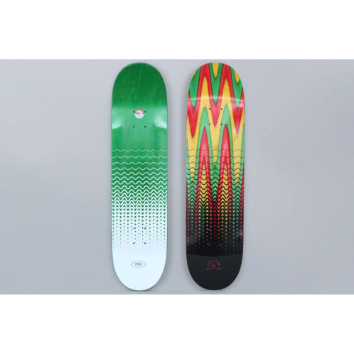 Real 8.06 Ishod Wavelength Spectrum Skateboard Deck