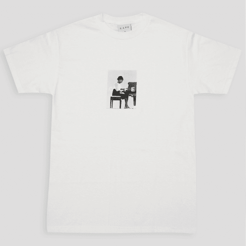 Skateboard Cafe Alice T-Shirt White