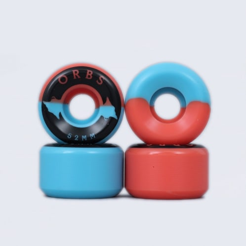 Welcome 52mm 99A Orbs Specters Wheels Blue / Coral