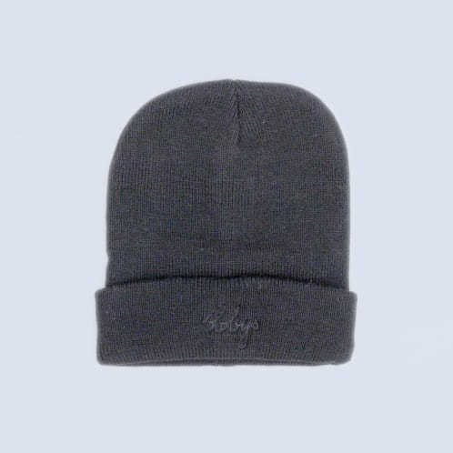 Blobys Light Beanie Black