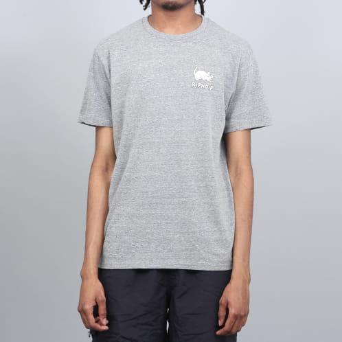 RIPNDIP Two Nermals T-Shirt Ash Heather