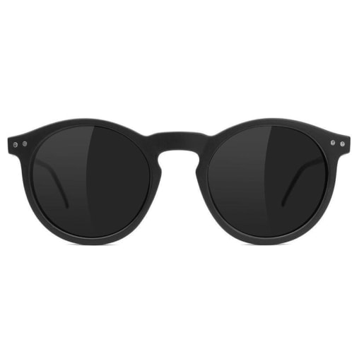 Glassy TimTim Polarized Sunglasses | Matte Black