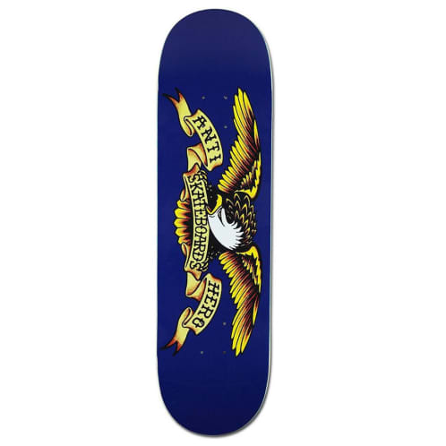 Anti Hero Classic Eagle Deck Blue - 8.5""