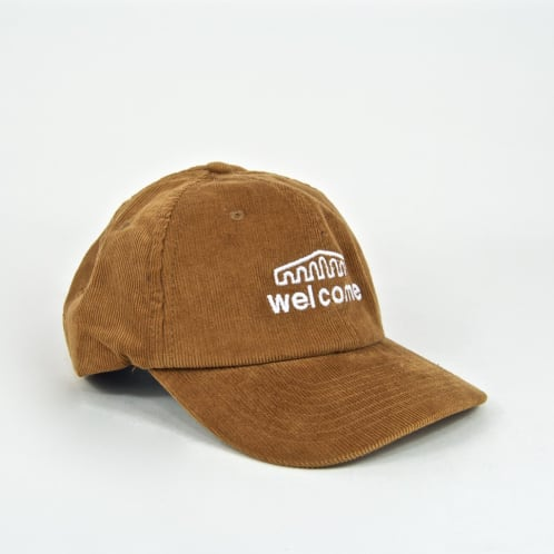 Welome Skate Store - Arch Cord Cap - Camel