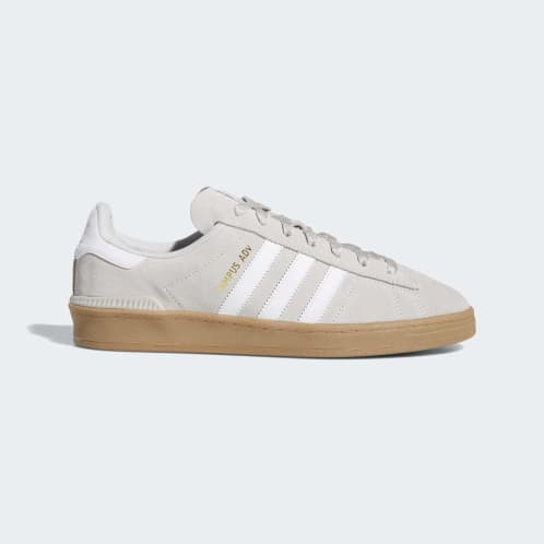 Adidas Campus ADV Shoes - Grey One/FTWR White/Gold Metallic