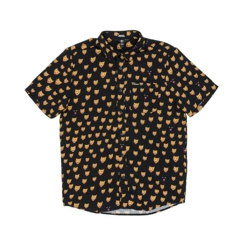 Volcom Ozzie Cat Shirt - Black