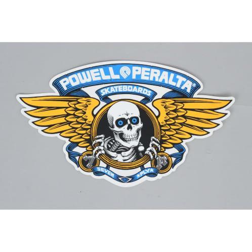 Powell Peralta Winged Ripper Ramp Sticker Blue