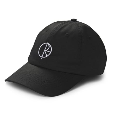 Polar Skate Co. Stroke Logo Cap Black