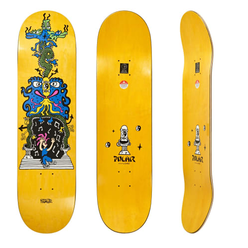 Polar Skate Co Hjalte Halberg Dragon Gate Deck - All Sizes