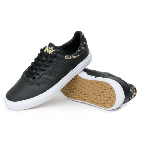 Adidas x Truth Never Told 3MC Shoes - Core Black/White/Matte Gold