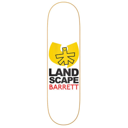 Landscape Skateboards Chris Barrett Skateboard Deck