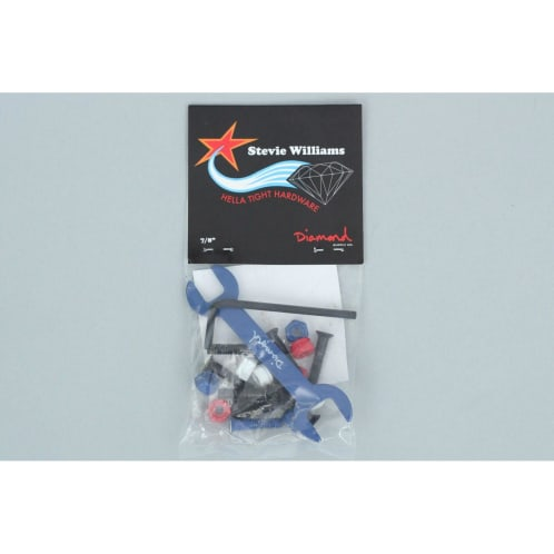 Diamond 7/8 Stevie Williams Pro Bolts Blue / Red