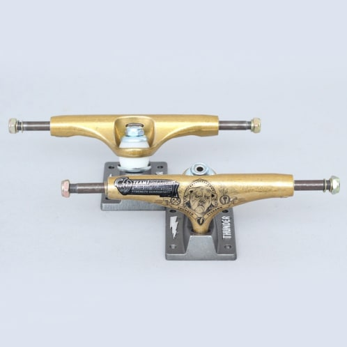 Thunder 147 Tyshawn Pedigree Hollow Trucks Gold / Black (Pair)