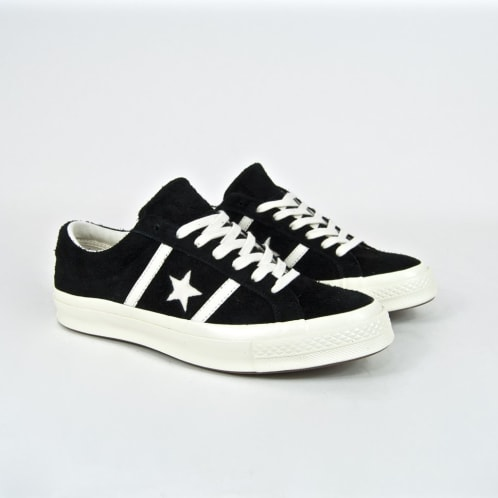 Converse - One Star Academy Ox Shoes - Black / Egret