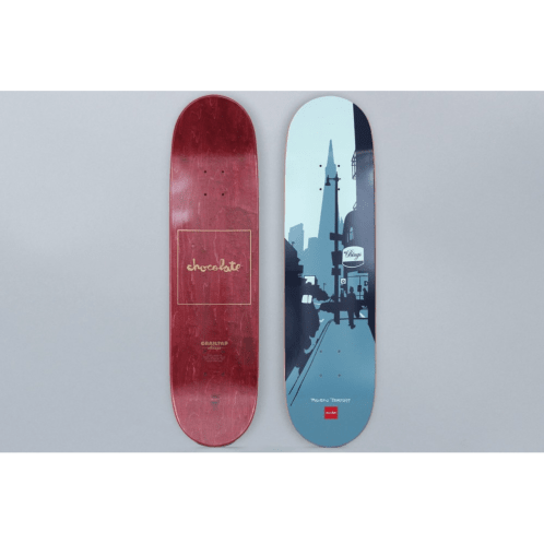 Chocolate 8.25 Raven Tershy Crailtap Classic The City Skateboard Deck