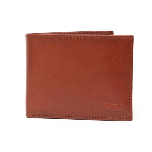 Levis Inlay Bifold Wallet - Brown