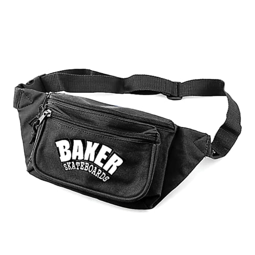 Baker Arch Logo Royal Shoulder Bag Canvas - Black