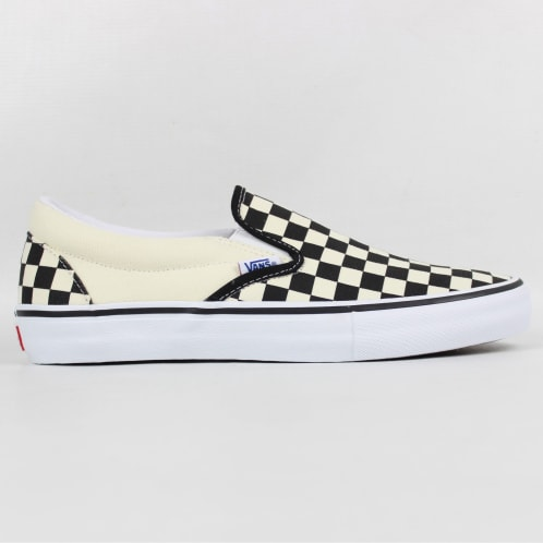 Vans Slip-On Pro Shoe Checkerboard Black/White