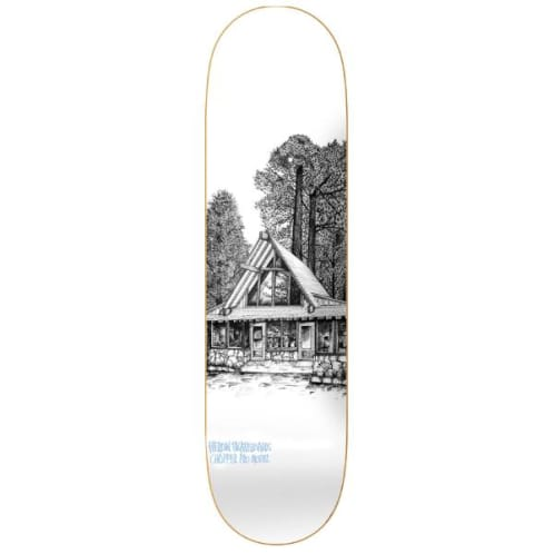 Heroin Skateboards Cabin Series 2 Chopper Skateboard Deck - 8.125